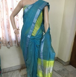 Silk Cotton Print Saree