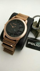 Police Magnet Belt Watches