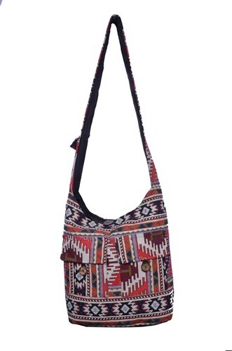 Jacquared Traditional Jacquard Bag