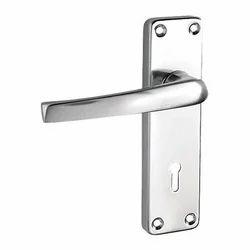 Main Door Aluminium Lever Lock, Anodised