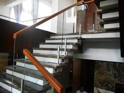 Floating Staircase for Hole