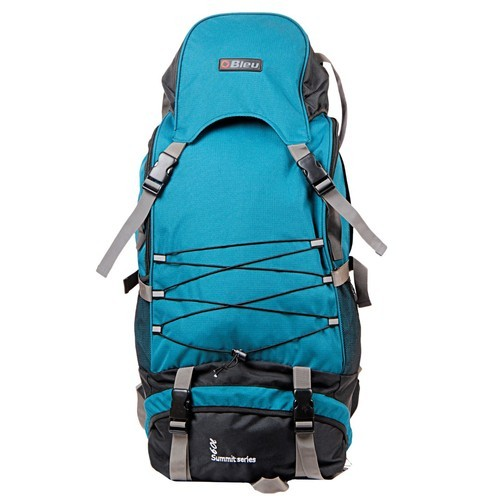 Bleu Nylon Sea Green Backpack Rucksack Bag