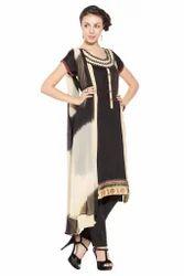 Latest Styling Party wear Ladies Long Kurti Salwar Suit