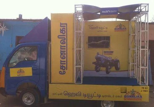 Minimum 1 Month Flex Roadshow Innovative With TV Model