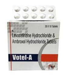 Levocetirizine & Ambroxyl Hydrochloride Tablets