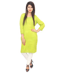 Trendy Embroidered Kurti