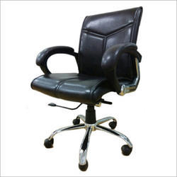 Black Low Back Office Chair