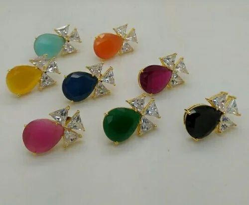 Color Stone Designer Stud\'s