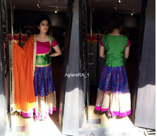 ed2eafa3bb65b0 Tribal Gypsy Rabary Kutch Skirt-Lehenga Choli at Rs 1200 /piece ...
