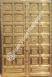 Metal Traditional Temple Door