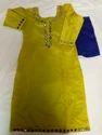 Ladies Silk Churidhar Suits