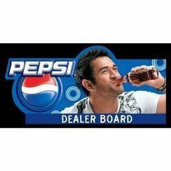 PVC Dealer Board, Shape: Rectangular