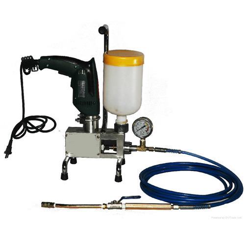 Electric Epoxy Grouting Pump, Voltage: 220 V, Rs 35500 /piece Burhani  Machinery Stores   ID: 12207944348