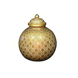 Golden Marble Pots