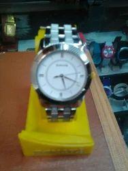 Sonata Silver Watch
