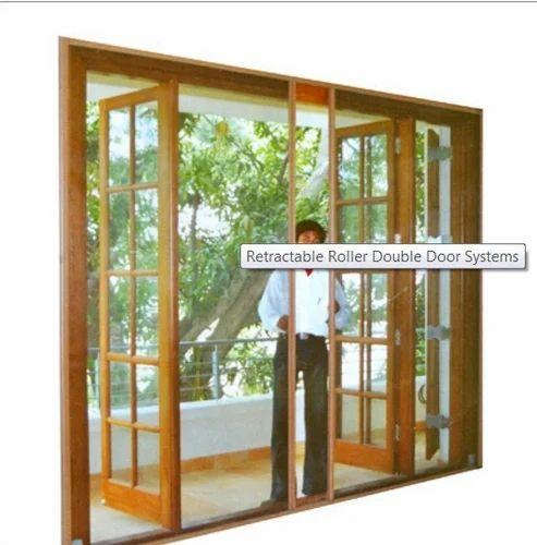 Marvelous Retractable Double Door System