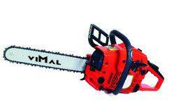 VIMAL Petrol Chain Saw Machine, CS 55, Warranty: 3 months