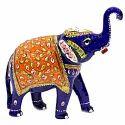 MT006 Meenakari Work Elephant Trunk Up