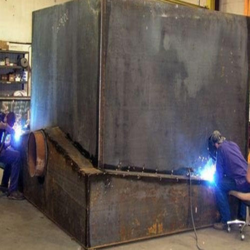 Heavy Metal Fabrication Service, For Industry