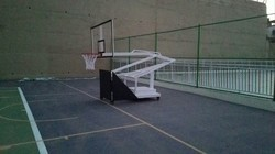 Portable and Adjustable Basketball Posts