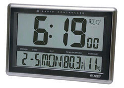 Radio Controlled Wall Clock Hygro Thermometer