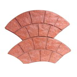 Arch Rubber Paver Block