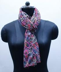 EGSC00014 Paisely Cotton Printed Scarf