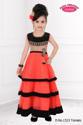 Girls Gowns at Rs 1995 /piece(s) | Bachchon Ka Gown, किड्स ...