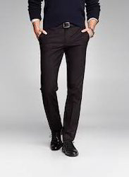 Cotton Slim Fit Chinos Trousers