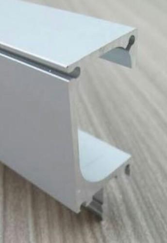 G Profile With End Cap Aluminium Railing Profile