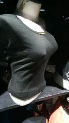 Ladies Plain Black Top