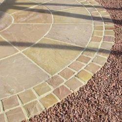 Sandstone Garden Paving