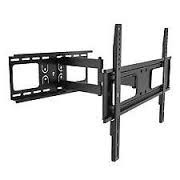 Cast Aluminium Black Wall Mount LED Stand, Size: 32 To 60 (moveble)