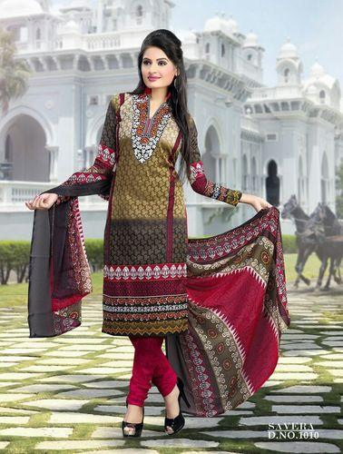 649d45d3af Ladies Suit - Cotton Printed Salwar Suit Wholesale Trader from Surat