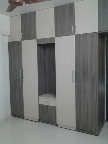 Modular Furniture Wardrobe With Dressing Unit