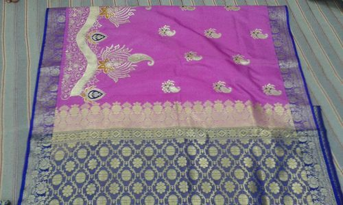 Fancy Banarasi Wedding Saree