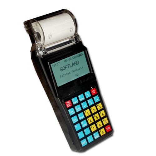 Property Tax Collection Handheld Device