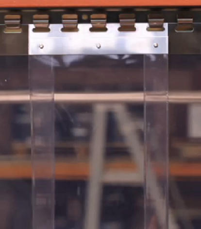 Strip Curtain Mounting Brackets