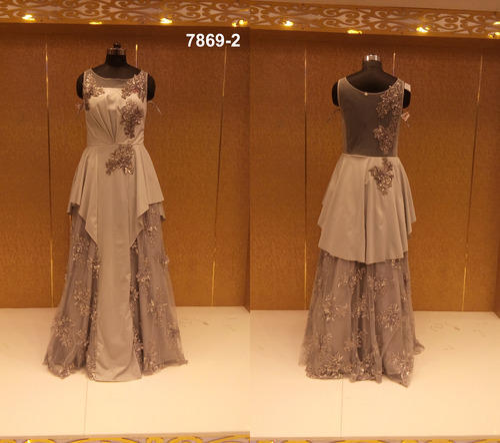 Designer Wedding Gown Rental: Ethnic Party Designer Wedding Gown, H. M. Bridal Lehenga