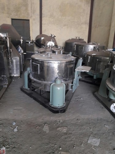 Silver SS 316 Centrifuge Machine, For Industrial