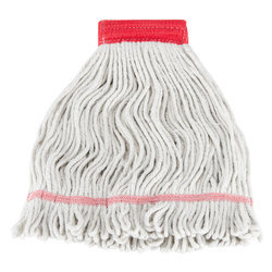 Greenizon Cotton Floor Cleaning Wet Mop Refill, Size: 17x6 Inch