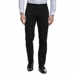 TAHVO Black Mens Lycra Trousers