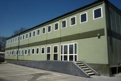 FRP Cold Rolled Prefabricated Double Storey Building
