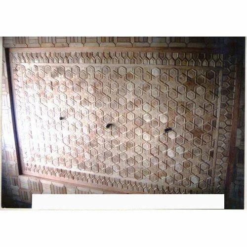 Manufacturer Of Wooden Roof Ceiling Pattern Roof Ceiling Pattern By Myna Khatamband Ceiling Industry Srinagar