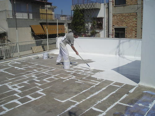 Roof Terrace Waterproofing Service In Kolathur Kalpalayam