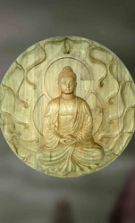 Buddha Wooden Sculpture