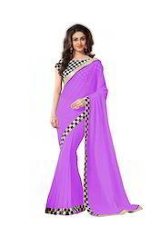 Designer Lace Border Saree