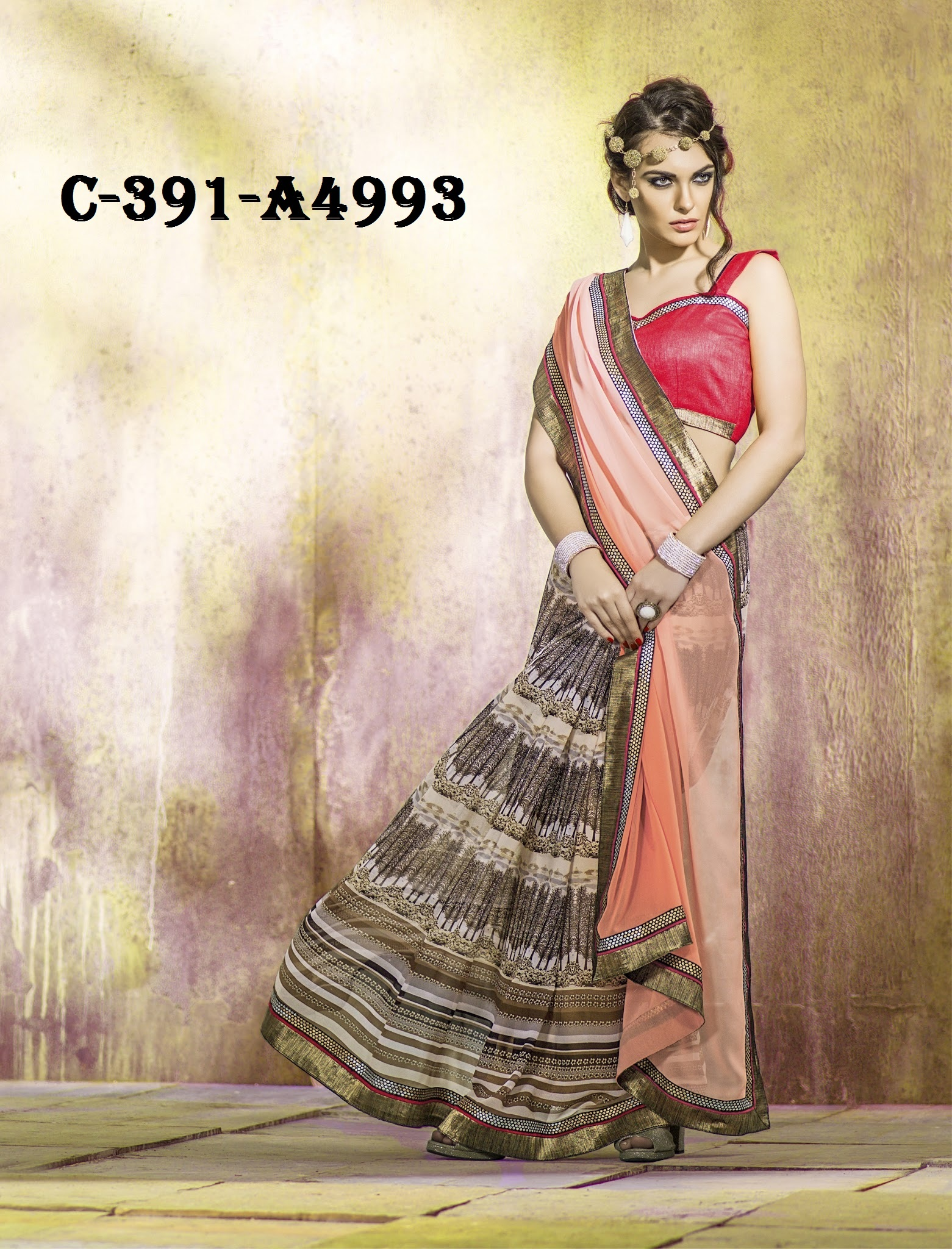 Georgette Sarees Party Wear Saree फ स स ड Fancy Collection Surat Id 10521255873