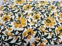 Floral Block Print Fabric