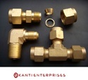 Brass Double Ferrule Fittings
